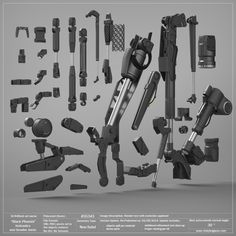 Black Phoenix: Hydraulics and Smaller Joints Pack. 50% OFF! — Vitaly Bulgarov