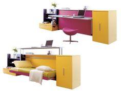 Cama escritorio #mueble_multifuncional #multifunctional_furniture