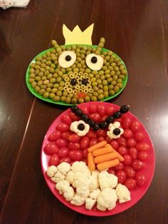 Angry Birds Birthday Party -Sam is almost a whole handful! I'm actually going to make the tomato tray for his party. I think even I can handle that -and while he won't eat it, the grown ups will!