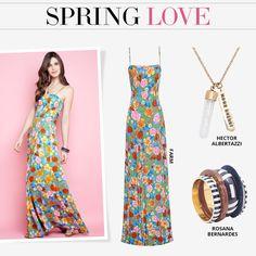 Compre moda com conteúdo, www.oqvestir.com.br #Fashion #FARM #Rosana Bernardes  #HectorAlbertazzi #Flowers #Pretty #Summer #Pink #Dresses #Looks #Shop