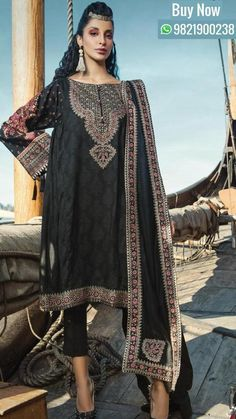 5fc86e5d88 Latest Maria B Winter Linen Dresses Collection consists of three pieces  unstitched printed & embroidered linen, jacquard suits with shawls.