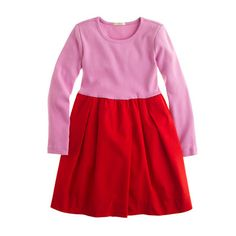 Girls' city dizzy dress. J.Crew