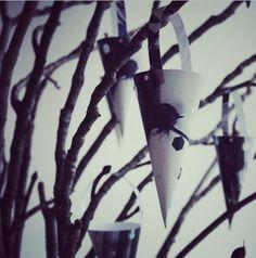 Versiering kerstboom - Nynne Rosenvinge, Denemarken. Christmas decoration - Nynne Rosenvinge, Denmark