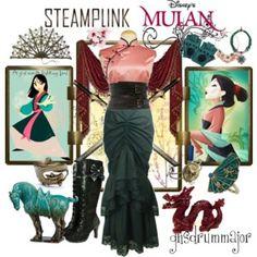 Steampunk: Mulan