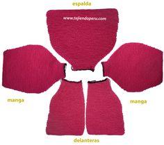 saco con capucha para bebe de 6 a 9 meses Knit Baby Sweaters, Knit Crochet, Knitting, Swimwear, Diy, Fashion, Vestidos, Jacket With Hoodie, Beanie Babies