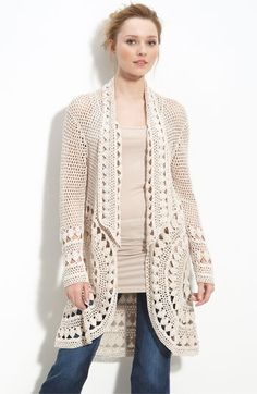 love this cardigan - there are free patterns for similar ones on ravelry