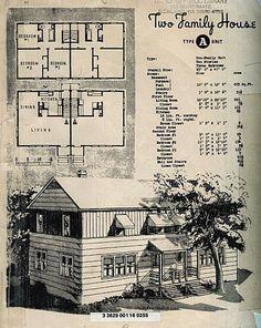 The house I grew up in (Richland, Washington 'A' House | 1945)