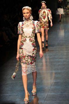 Ah, the colors!    Dolce & Gabbana