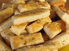 Snack finger breadsticks