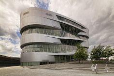 Mercedes-Benz Museum designed by UNStudio. Stuttgart.