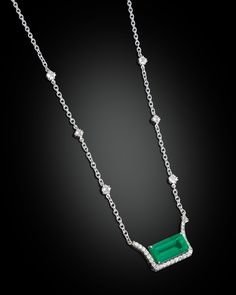 Colombian Emerald Necklace