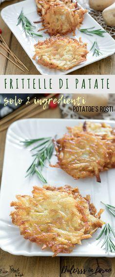 Potato Rosti Recipe, Happiness Recipe, My Favorite Food, Favorite Recipes, Mediterranean Dishes, Happy Foods, Savoury Dishes, Soul Food, Food Hacks