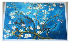 Find More Painting & Calligraphy Information about Cheap Van Gogh Oil Painting for Living Room Branches of An Almond Tree Wall Decor Art Canvas Painting Impressionist Handpainted,High Quality paintings on glass for sale,China oil painting varnish Suppliers, Cheap oil painting gifts from The Arts Road on Aliexpress.com