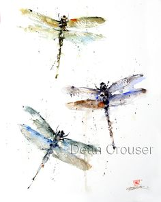 DRAGONFLIES - The Art of Dean Crouser