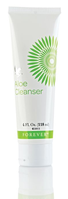 Aloe Cleanser from Forever Living Products. Aloe Cleanser is prepared from hypoallergenic ingredients, a light, non-greasy, non-irritating lotion