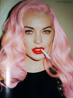 Lindsay Lohan by Terry Richardson