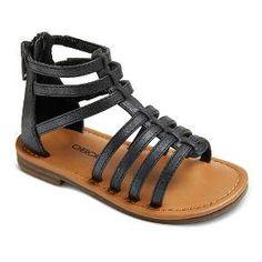 c7a77a6578da Toddler Girls  Jennifer Gladiator Sandals Assorted Colors - Cherokee®    Target Childrens Shoes