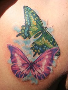 Image result for unique butterfly tattoos