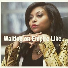 "Cookie Lyon (Taraji P. Henson) returns from jail to claim her share of the company in the premiere episode of ""Empire,"" airing Wednesday, Jan. on FOX. She is off the chain on this show! Serie Empire, Empire Cast, Empire Fox, Taraji P Henson Empire, Empire Memes, Empire Quotes, Lucious Lyon, Empire Cookie, Movies"