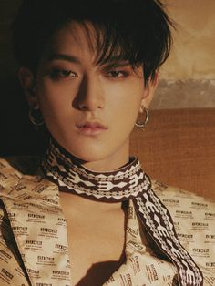 """""""Huang Zitao for Harper's BAZAAR Love Letter photoshoot """" why do boys look prettier than me, why do they look more feminine than me ... I will always look like a disaster EVEN WITH MAKE UP"""