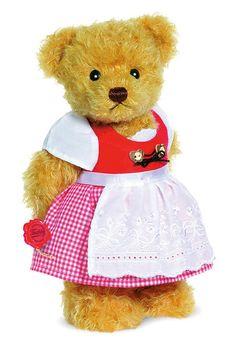 """""""Zilli"""" Dirndl Bear by Teddy Hermann"""
