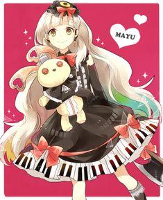 Isn't mayu so cute! Manga Anime, Art Anime, Manga Art, Gakupo Kamui, Mikuo, Hatsune Miku, Aoki Lapis, Otaku, Anime People