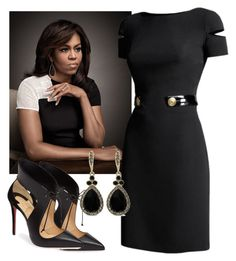 FLOTUS by fashion-press-pass-abw on Polyvore featuring polyvore, fashion, style, FABIANA FILIPPI, 3.1 Phillip Lim, Karen Millen, Marni, Vince, Christian Louboutin, Givenchy, Alex Woo, Jane Norman, Versace, Bobbi Brown Cosmetics and clothing
