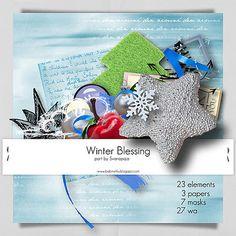 Winter Blessing Elements by svarapaja Megakit Part