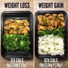 Weight Loss vs Weight Gain with Garlic Sriracha from Page 75 of The Meal Prep Ma. Weight Loss vs Weight Gain with Garlic Sriracha from Page 75 of The Meal Prep Minute Meals eBook. If you missed the post earlier… Lunch Meal Prep, Healthy Meal Prep, Healthy Snacks, Healthy Nutrition, Simple Meal Prep, Meal Prep Low Carb, Banana Nutrition, Diy Snacks, Watermelon Nutrition