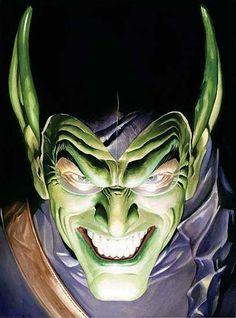Green Goblin by Alex Ross http://31.media.tumblr.com/tumblr_linrycfQTq1qdw6bwo1_500.jpg