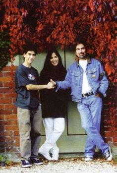 One Light Burning, George and Dhani Harrison  真ん中はオリビアかな