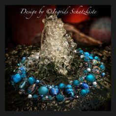Blue Monday Sale! Nur heute gibt es dieses einmalige Collier für EUR 39,00 in meiner Schatzkiste.  www.ingrids-schatzkiste.com