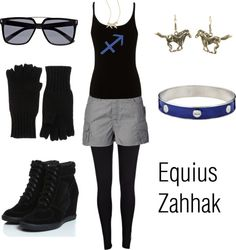 """Equius Zahhak."" by winterlake25 on Polyvore"