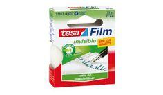 Cinta adhsevia Tesafilm® invisible 33m x 19mm en mancheta