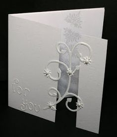 Simpli Crafti: white on white