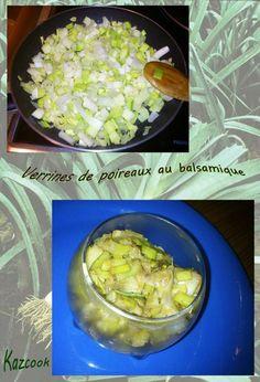une recette que j'adore ! http://kazcook.com/blog/archives/853-Verrines-de-poireaux-au-vinaigre-balsamique.html