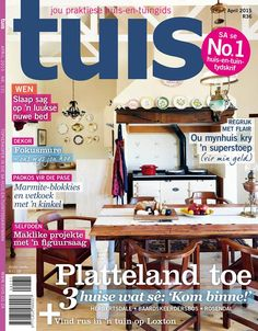 Be on the look out, the April edition of Home is on the shelves as from today!