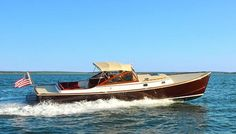 Shelter Island Runabout, top speed, conceived by Billy Joel Yacht Design, Boat Design, Motor Cruiser, Lobster Boat, Boat Engine, Shelter Island, Used Boats, Small Boats, Motor Boats