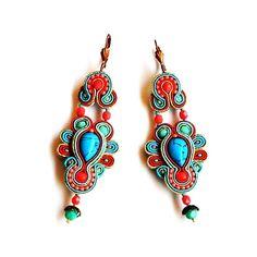 eleganckie,sutaszowe,oryginalne,modne - Kolczyki - Biżuteria w ArsNeo