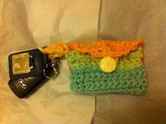Crochet key holder