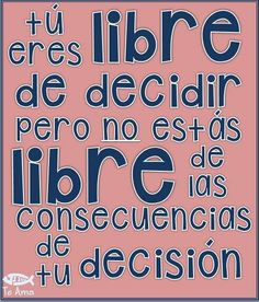Decisiones... facebook.com/jesusteamamgaministries