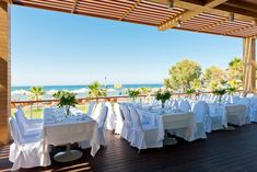 If you want special Cretan wedding, Minoa Palace Resort in Crete, Greece is the ideal location. Wedding Events, Weddings, Crete, Big Day, Palace, Anxiety, Dreams, Table Decorations, Detail