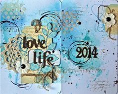 art journal et project life !!