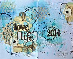 art journal et project life !! - Le blog de lespagesdenadia.over-blog.com