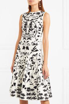 Alexander McQueen   Stretch-jacquard dress   NET-A-PORTER.COM