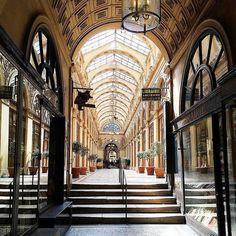 Passage Galerie Vivienne in Paris