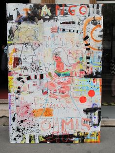 """TANGO"" (I told you) Troy Henriksen  #galeriew #contemporaryart #artgallery"