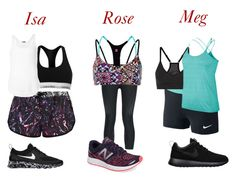 """""""Rose, Isa e Meg - Sala de dança"""" by artemisa-538 ❤ liked on Polyvore featuring beauty, We Are Handsome, Calvin Klein, ATM by Anthony Thomas Melillo, NIKE, Sweaty Betty, New Balance, dance, fanfiction and DSGL"""