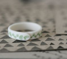 porcelain ring