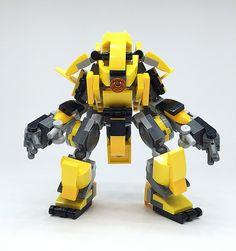 LEGO Robot Mk-3   Lego Mech !! More robot,weapon,mecha are o…   Flickr